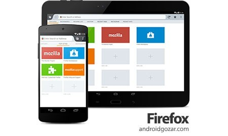 Firefox Browser for Android 42.0.1 دانلود مرورگر موبایل فایرفاکس