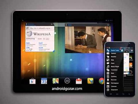 Multitasking Pro 1.13 دانلود نرم افزار باز کردن چند پنجره در اندروید