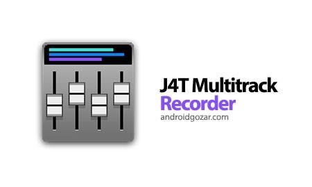 J4T Multitrack Recorder 4.60 دانلود نرم افزار ضبط چهار کاناله صدا