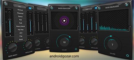 Equalizer & Bass Booster Pro 1.3.3 دانلود نرم افزار تقویت باس و اکولایزر