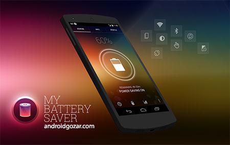 My Battery Saver Premium 1.04 دانلود نرم افزار ذخیره عمر باتری