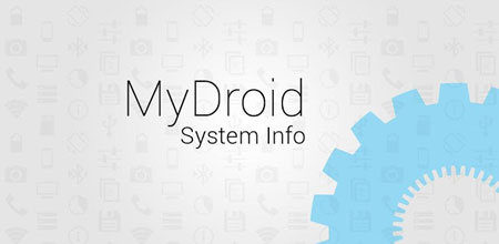 MyDroid System Info 1.0.10 دانلود نرم افزار نمایش اطلاعات سیستم
