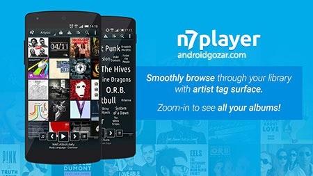 n7player Music Player Premium 3.0.6 دانلود موزیک پلیر اندروید