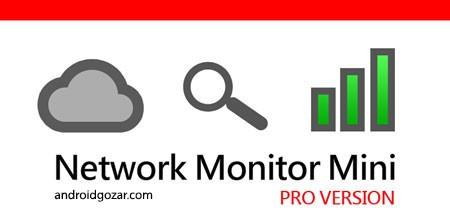 Network Monitor Mini Pro 1.0.180 دانلود نرم افزار نظارت شبکه اندروید