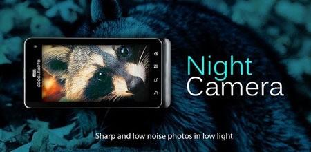 Night Camera+ 2.22 دانلود نرم افزار عکاسی در شب با کیفیت بالا