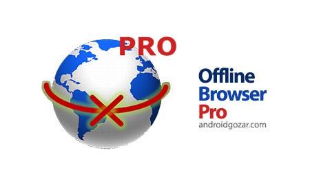 Offline Browser Pro 5.8 دانلود نرم افزار مرورگر آفلاین اندروید