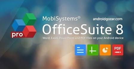 OfficeSuite Pro + PDF 8.9.6313 دانلود نرم افزار آفیس اندروید
