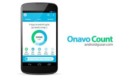 Onavo Count | Data Usage 2.2.1-4 دانلود نرم افزار نظارت و تحلیل مصرف داده
