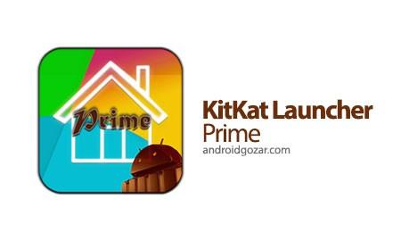 KitKat Launcher Prime 6.1.1 دانلود لانچر سریع و روان کیت کت