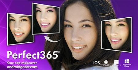 Perfect365: One-Tap Makeover 6.23.12 Unlocked آرایش مجازی و ویرایش عکس اندروید