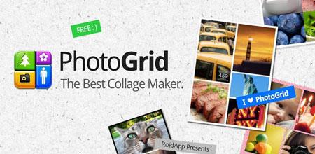 Photo Grid Premium 6.18 دانلود نرم افزار ساخت کلاژ عکس اندروید