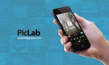 PicLab Premium – Photo Editor 1.8.5 دانلود نرم افزار ویرایش عکس اندروید