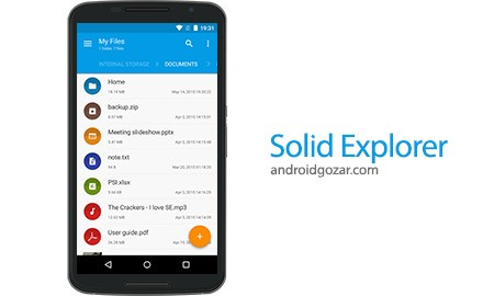 Solid Explorer File Manager FULL 2.2.7 مدیریت فایل اندروید+پلاگین ها