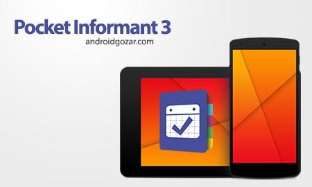 Informant 3 v3.39.20259 Patched دانلود نرم افزار تقویم،وظایف،یادداشت،مخاطبین