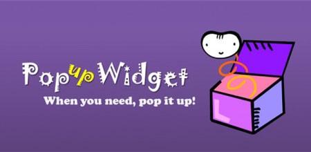 Popup Widget 2 2.2.7 دانلود نرم افزار ویجت بالاپر