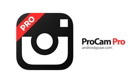 ProCam Pro 1.1 دانلود نرم افزار دوربین حرفه ای