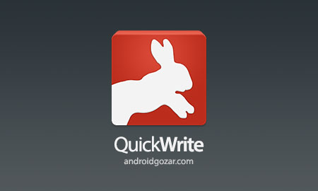 QuickWrite Keyboard FULL 3.0.56 صفحه کلید نوشتن سریع