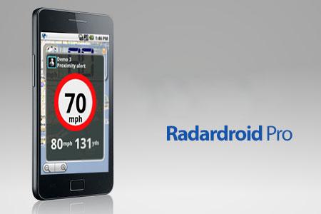 Radardroid Pro 3.39 دانلود نرم افزار هشدار دهنده دوربین سرعت GPS