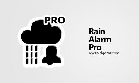 Rain Alarm OSM Pro 4.1.11 Patched دانلود نرم افزار هشدار بارندگی