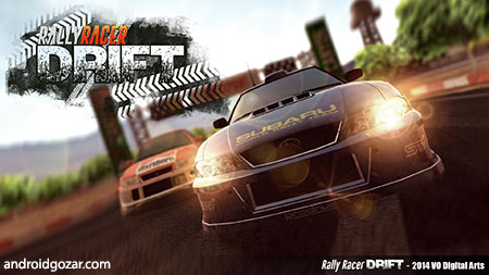 Rally Racer Drift 1.56 دانلود بازی مسابقه رالی دریفت+مود