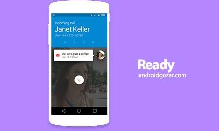 Ready Contacts + Dialer Pro 2.1.0 دانلود نرم افزار لیست مخاطب زیبا