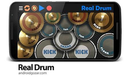 Real Drum FULL 6.19 دانلود نرم افزار نواختن ساز درام در اندروید