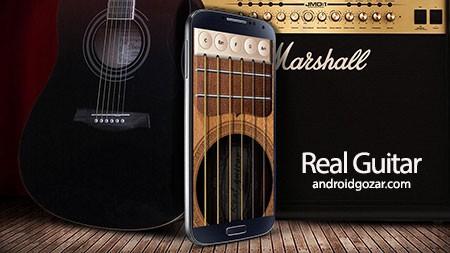Real Guitar 3.2.0 دانلود نرم افزار شبیه ساز گیتار واقعی اندروید