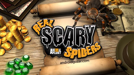 Real Scary Spiders 1.3.3 دانلود بازی عنکبوت های ترسناک واقعی+مود