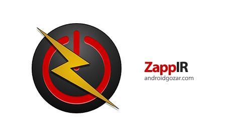 ZappIR TV Remote PRO 2.62 دانلود نرم افزار کنترل از راه دور مادون قرمز