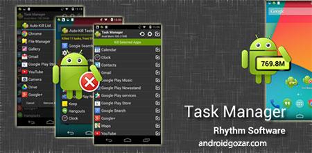 Task Manager Pro (Task Killer) 2.3.0 Paid دانلود نرم افزار مدیریت وظیفه