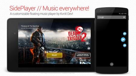SidePlayer Pro 1.00.58 دانلود نرم افزار موزیک پلیر بازی
