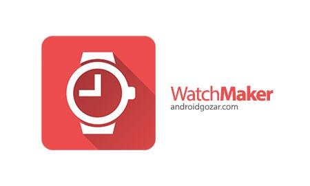 WatchMaker Premium Watch Face 4.1.1 دانلود نرم افزار ساخت صفحه ساعت هوشمند
