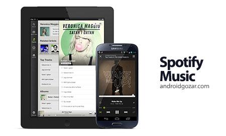 Spotify Music 7.0.0.1369 Mod دانلود نرم افزار اسپاتیفای اندروید
