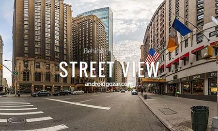 Google Street View 2.0.0.149018515 دانلود نرم افزار نمای خیابان گوگل