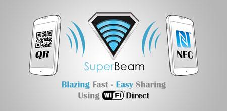 SuperBeam PRO | WiFi Direct Share 4.1.3 دانلود نرم افزار اشتراک فایل