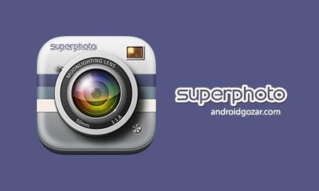 SuperPhoto Full 2.3.5 دانلود نرم افزار افکت گذاری و جذاب کردن عکس