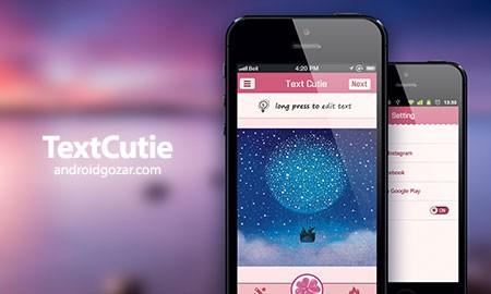 TextCutie-Instagram text 2.7.2 ایجاد عکس زیبا و خلاقانه