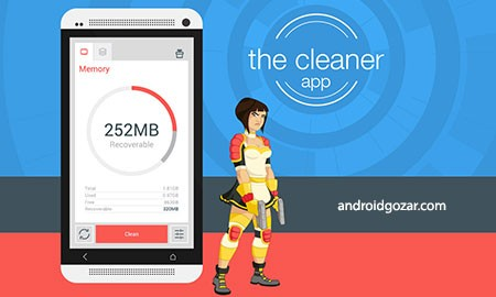The Cleaner – Speed up & Clean Premium 1.8.4 افزایش سرعت اندروید