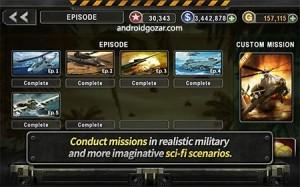 theonegames gunshipbattle 4 300x187 GUNSHIP BATTLE: Helicopter 3D 2.3.20 دانلود بازی نبرد هلیکوپتر جنگی+مود+دیتا
