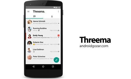 Threema 3.12 دانلود نرم افزار پیام رسانی موبایل بسیار امن اندروید