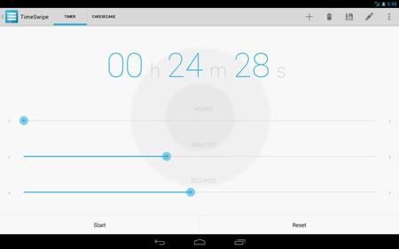 TimeSwipe – Timer 2.1.2 دانلود نرم افزار تایمر و کورنومتر