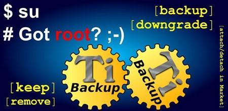 Titanium Backup Pro ★ root 7.5.0 دانلود نرم افزار پشتیبان گیری از برنامه ها