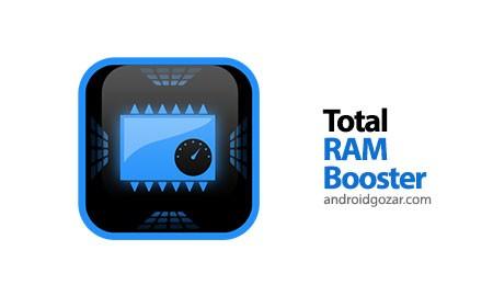 Total RAM Speed Booster 3.0.1 دانلود نرم افزار تقویت کننده رم اندروید
