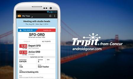 TripIt Travel Organizer PRO 5.0.0 Patched دانلود نرم افزار برنامه ریزی سفر