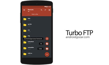 Turbo FTP client & SFTP client Pro 3.6 دانلود کلاینت FTP و SFTP