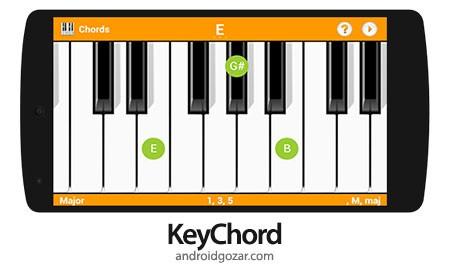 KeyChord – Piano Chords/Scales 2.16 دانلود نرم افزار آکوردها و گام های پیانو