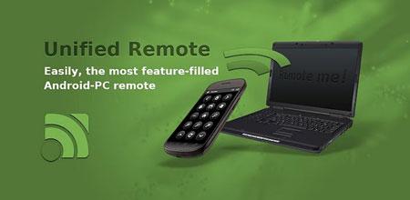 Unified Remote Full 3.8.0 کنترل کامپیوتر از راه دور با اندروید