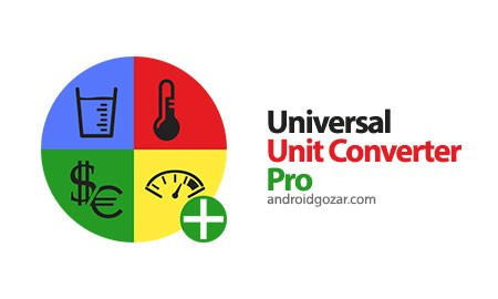 Unit Converter Pro 1.19 Patched دانلود نرم افزار تبدیل واحد