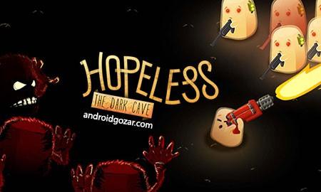 Hopeless: The Dark Cave 1.4.18 دانلود بازی نا امید: غار تاریک+مود