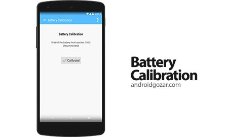 Battery Calibration [ROOT] 1.1 Ad-Free کالیبره کردن باتری اندروید